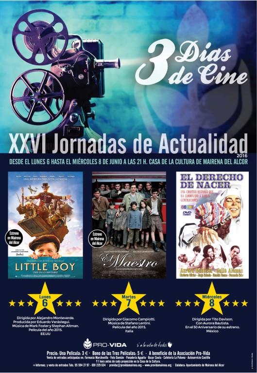 3 Días de Cine. XXV Jornadas de Actualidad